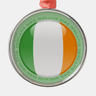 アイルランドの泡旗 メタルオーナメント