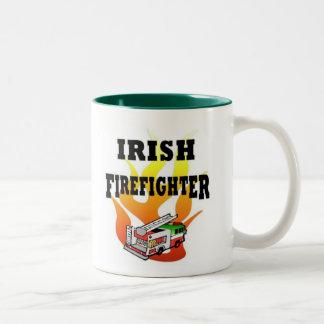 アイルランドの消防士 ツートーンマグカップ