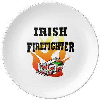 アイルランドの消防士 磁器プレート