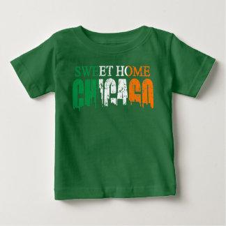 アイルランドの甘い家のシカゴ ベビーTシャツ