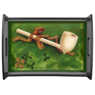 アイルランドの管のセントパトリックの日のトレイ トレー