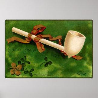 アイルランドの管のセントパトリックの日ポスター ポスター