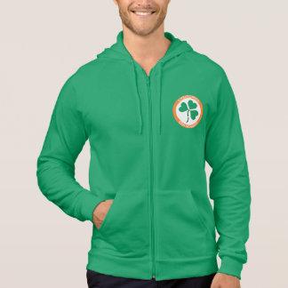 アイルランドの緑のハートエリンはBraghアイルランド永久に行きます パーカ