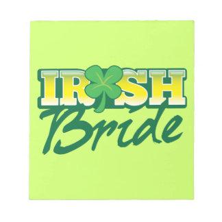 アイルランドの花嫁 ノートパッド