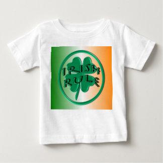 アイルランドの規則-アイルランドの色およびシャムロック ベビーTシャツ