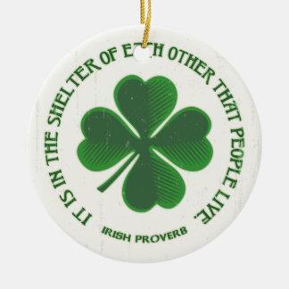 アイルランドの諺 セラミックオーナメント