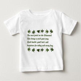 アイルランドの賛美Shamrock2 ベビーTシャツ