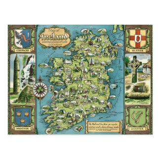 アイルランドの郵便はがき ポストカード