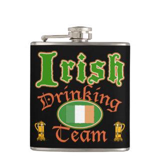 アイルランドの飲むチームフラスコ フラスク