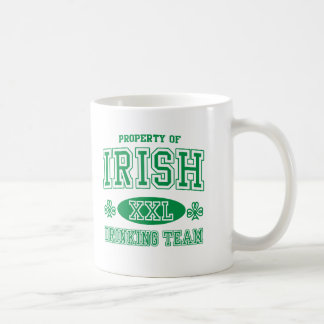 アイルランドの飲むチーム コーヒーマグカップ
