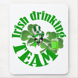 アイルランドの飲むチーム マウスパッド