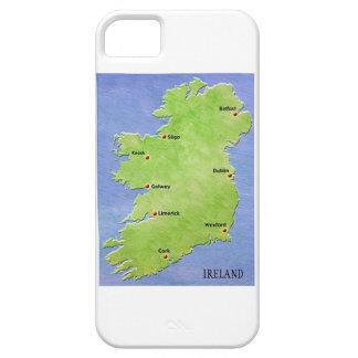 アイルランドのiPhoneの場合の地図 iPhone SE/5/5s ケース