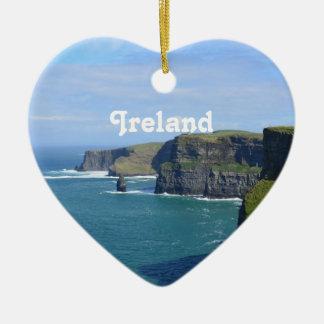 アイルランドのMoherの崖 セラミックオーナメント