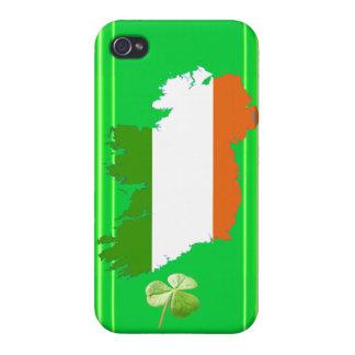 アイルランドは(固体)縞で飾りますケネスYoncichによって iPhone 4/4S ケース