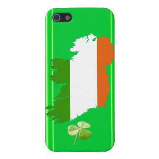 アイルランドは(固体)縞で飾りますケネスYoncichによって iPhone 5 カバー