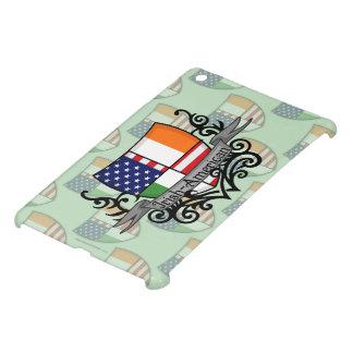 アイルランドアメリカの盾の旗 iPad MINIケース