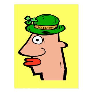 アイルランドチャネルの頭部 ポストカード