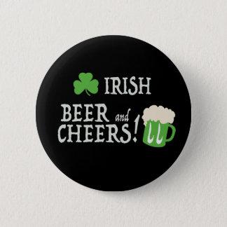 アイルランドビールおよび応援 5.7CM 丸型バッジ