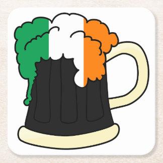 アイルランドビールセントパトリックの日の紙のコースター スクエアペーパーコースター