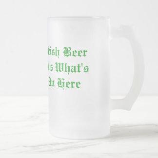 アイルランドビールビールのジョッキ フロストグラスビールジョッキ