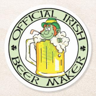 アイルランドビールメーカー ラウンドペーパーコースター