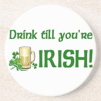 アイルランドビール飲むコースター コースター