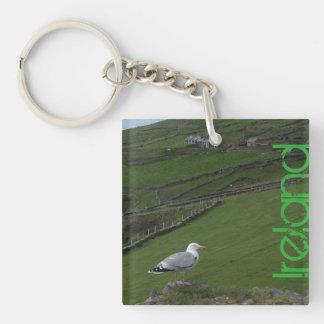 アイルランド人のアイルランドの田舎Keychain キーホルダー