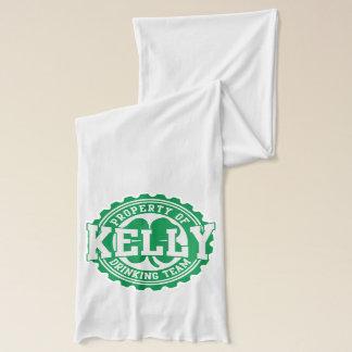 アイルランド人のケリーのシャムロックの飲むチーム スカーフ