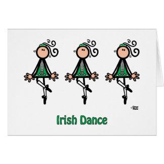 アイルランド人のダンス カード