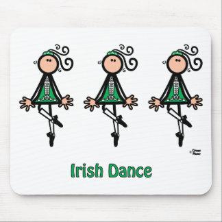 アイルランド人のダンス マウスパッド