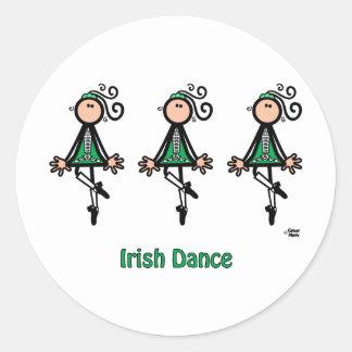 アイルランド人のダンス ラウンドシール