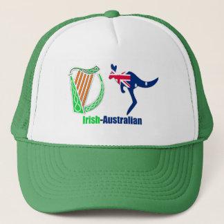 アイルランド人のハープオーストラリアの旗のトラック運転手帽子 キャップ