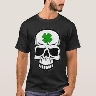 アイルランド人のプライドのスカル Tシャツ