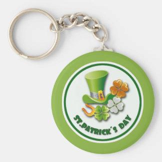 アイルランド人の運。 セントパトリックの日のギフトのキーホルダー キーホルダー