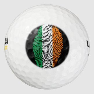 アイルランド人のtouchの指紋の旗 ゴルフボール