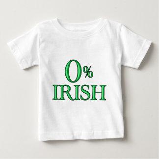 アイルランド人ゼロパーセントの ベビーTシャツ