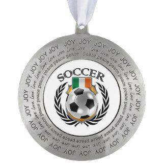 アイルランド共和国のサッカー2016ファンのギア オーナメント