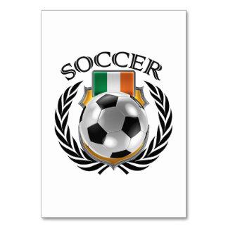 アイルランド共和国のサッカー2016ファンのギア カード