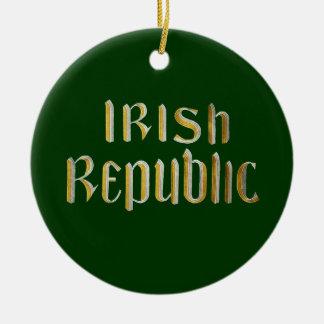 アイルランド共和国-アイルランド共和国--の旗 セラミックオーナメント