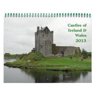 アイルランド及びウェールズの城 カレンダー