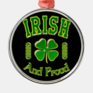 アイルランド語および誇りを持った メタルオーナメント