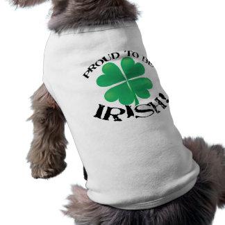 Proud to be Irish! Dog shirt
