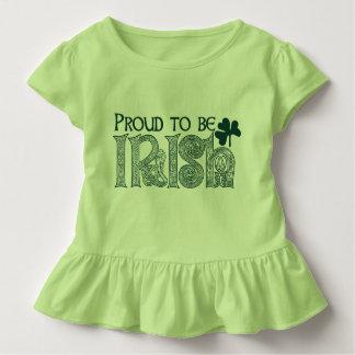 アイルランド語があること誇りを持ったSt patricks dayのケルト結び目模様 トドラーTシャツ
