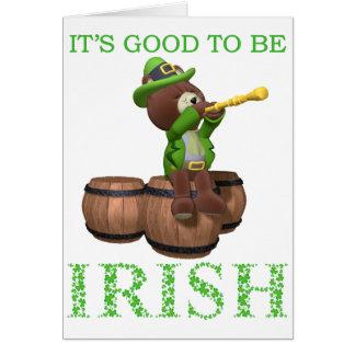 アイルランド語であることはよいです カード