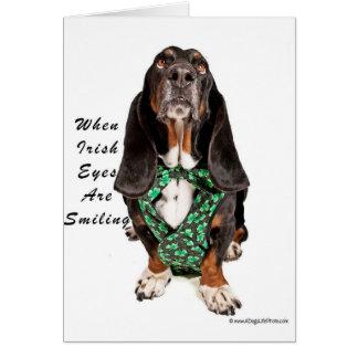 アイルランド語ときの目は微笑しています カード