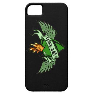 アイルランド語によって飛ぶハートのiPhone 5の場合 iPhone SE/5/5s ケース
