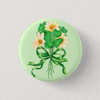 アイルランド語はボタンのあたりで開花します 3.2CM 丸型バッジ