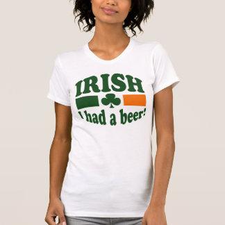 アイルランド語はIビールを食べました Tシャツ