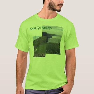 アイルランド語エリンはTシャツアイルランドBraghの行きます Tシャツ