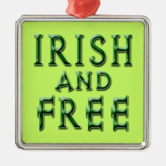 アイルランド語セントパトリックの日の間放せば メタルオーナメント